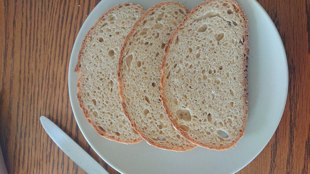Thumbnail Brood met kikkererwten zuurdesem