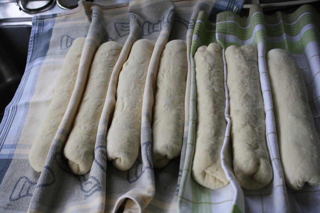 baguettes in rijsdoek