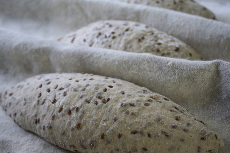 Thumbnail Flax seed levain with spelt