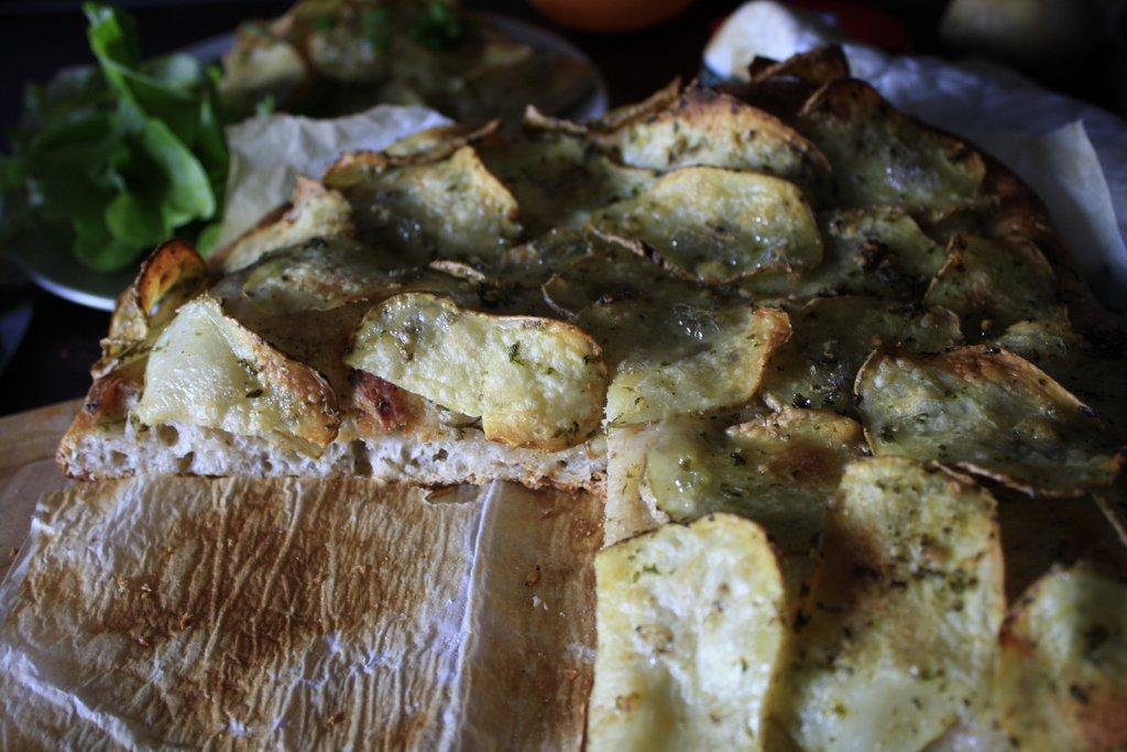 Thumbnail Aardappel focaccia