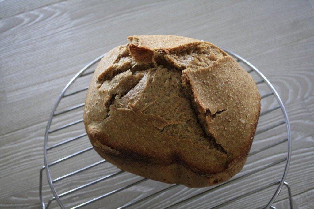 het gebakken brood
