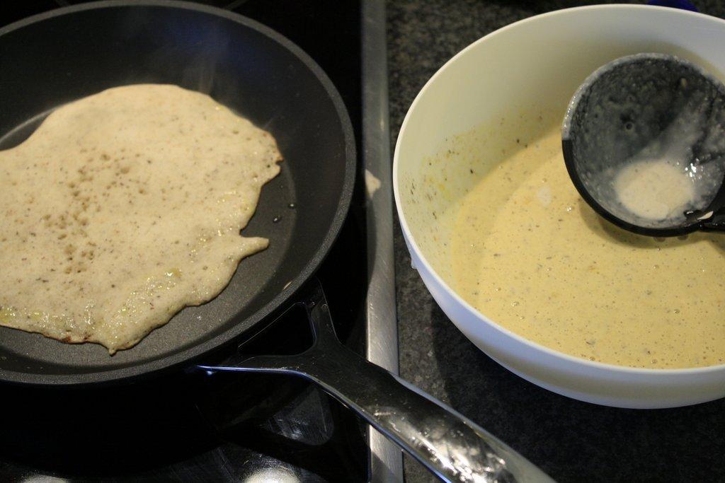 een pannenkoek in spé